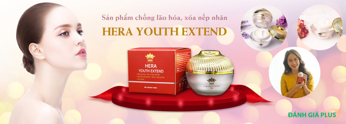 Hera Youth Extend chống lão hóa – Giá bao nhiêu? Mua ở đâu? Có tốt không?