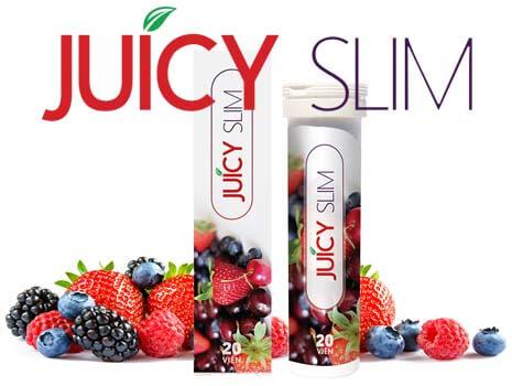 Viên Sủi Giảm Cân Juicy Slim - Hàng Chính Hãng Từ Nhà Sản Xuất