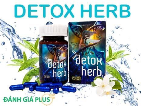 Sản phẩm DetoxHerb – Giúp loại bỏ ký sinh trùng ra khỏi cơ thể