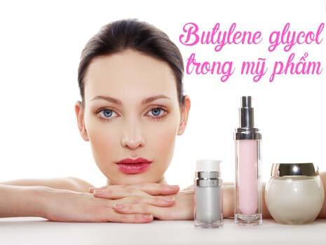 Thành phần Butylene Glycol trong mỹ phẩm là gì?