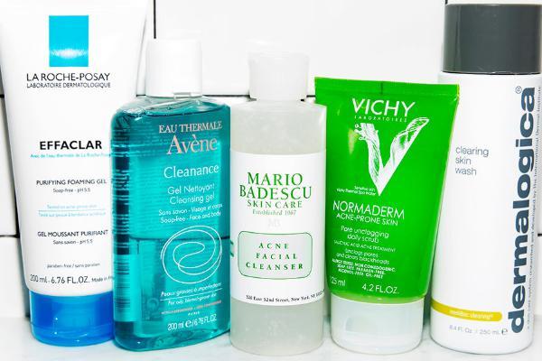 cách chọn sữa rửa mặt cho làn da hỗn hợp thiên dầu