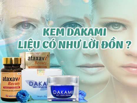 Tổng hợp những ưu điểm và nhược điểm của kem Dakami khi sử dụng