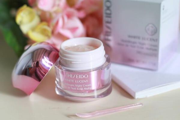 shisheido white lucent multibright night cream