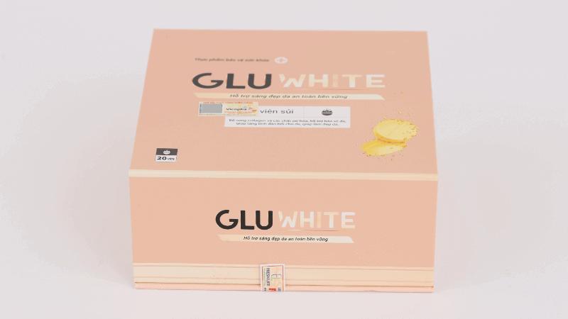 dưỡng trắng da với gluwhite