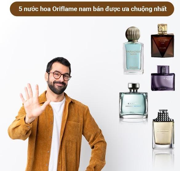 top 5 nuoc hoa nam Oriflame