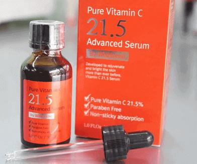 review vitamin c 21.5